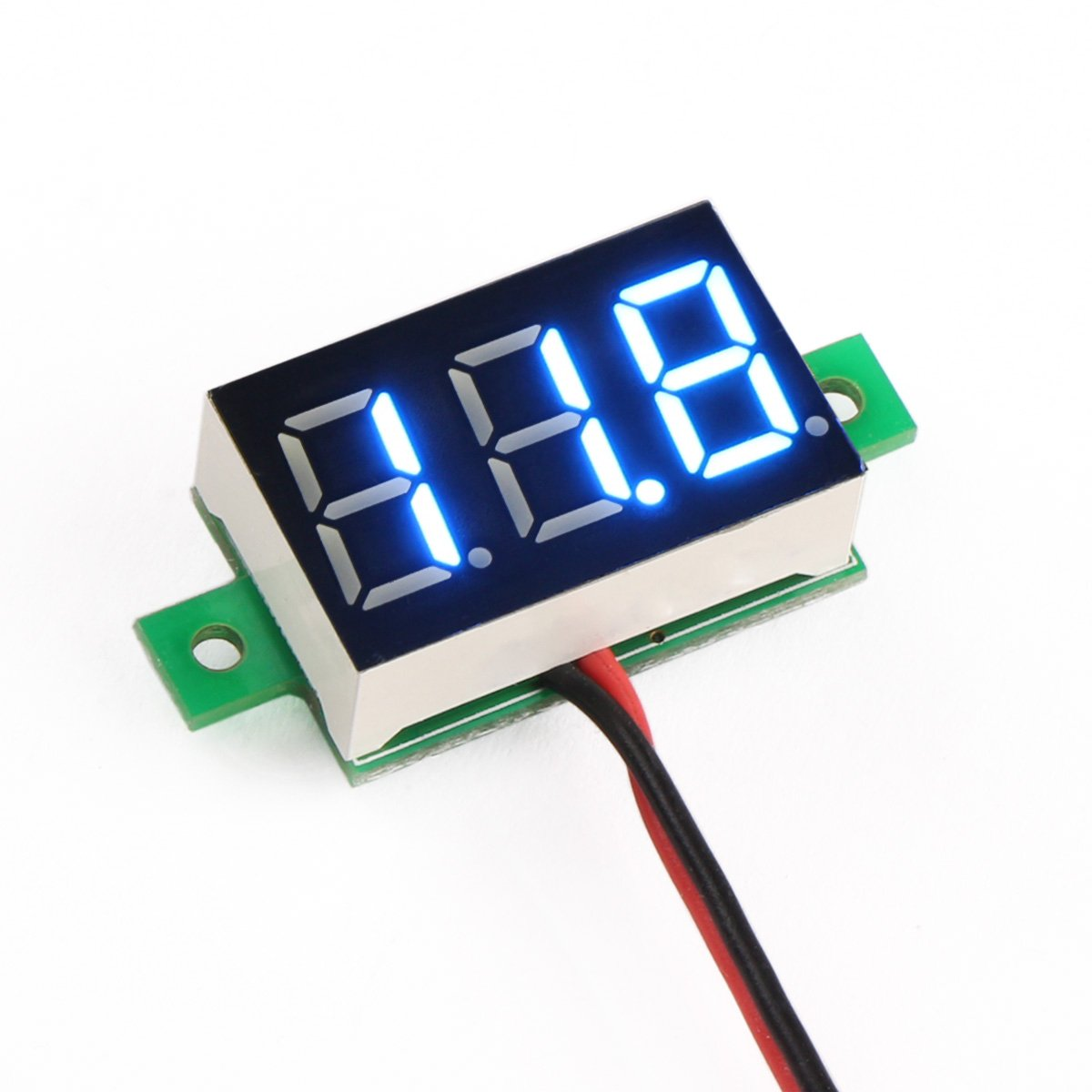 Small Digital Voltmeters Dc : Why does digital led volt meter fluctuate