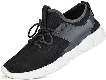 Zapatos de hombre zapatillas deportes hombre running Zapatos masculinos Casual Zapatos de camuflaje Zapatillas de Senderismo Deportivas Aire Zapatos para Correr hombres (Gris, EU39 /CN 40): Amazon.es: Iluminación