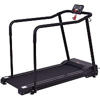 Goplus Electric Treadmill Jogging Walking Machine for Seniors Elders W/Extra-Long Handles
