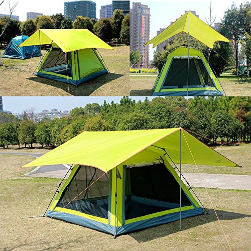 Tent Portable Shelter : Portable camping sun shade canopy portablefun waterproof