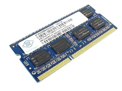 Nanya 4GB DDR3 Memory SO-DIMM 204pin PC3-12800S 1600MHz Internal Memory Card Readers at amazon