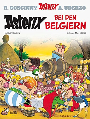 Asterix bei den Belgiern (Englisch) Gebundenes Buch – 14. März 2013 René Goscinny Albert Uderzo Gudrun Penndorf Egmont Comic Collection