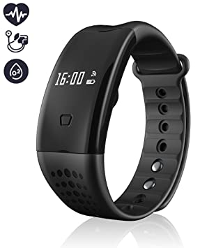 Activity Tracker – Rastreador de fitness, mejor Bluetooth 4.0 Smart brazalete de fitness Workout Tracker