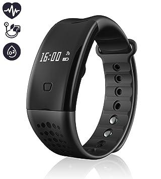 Activity Tracker – Rastreador de fitness, mejor Bluetooth 4.0 Smart brazalete de fitness Workout Tracker