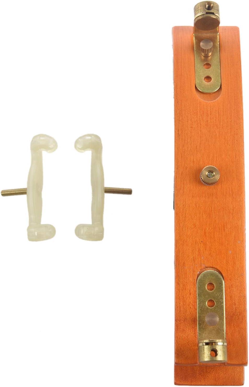 Andifany Violin Shoulder Pad Multi-Position Adjustable Maple Shoulder Pad German Style Violin Shoulder Pad for 3//4-4//4 Violin or 14 inch-15.5 inch Viola