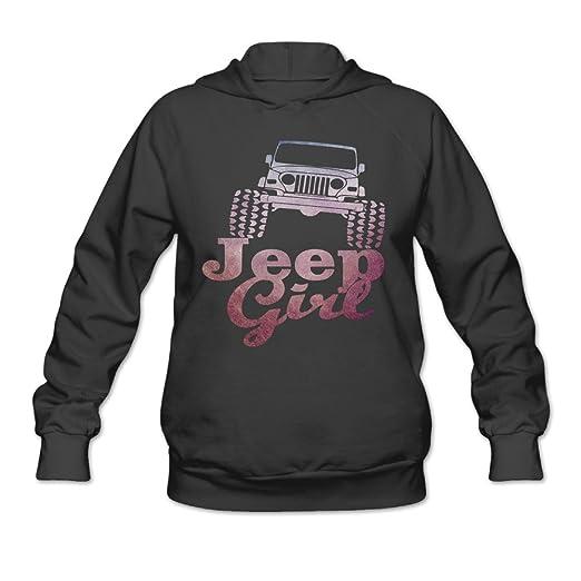 Women's - Women's Hoodies Store Clothing Black Jeep Girl Ptr At Amazon
