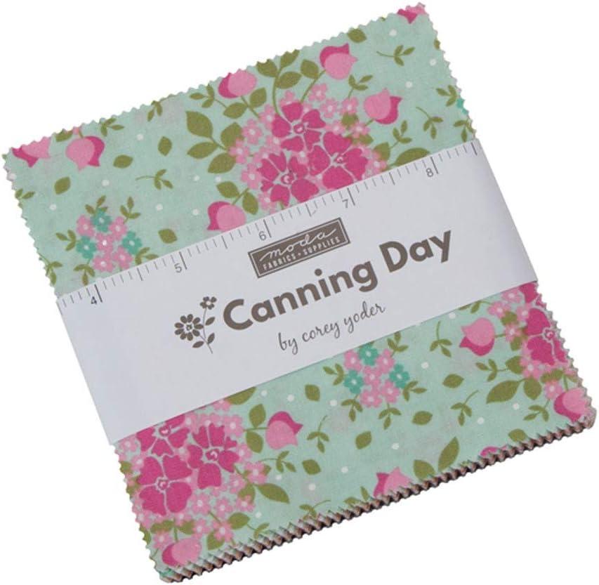 Canning Day Charm Pack por Corey Yoder; Cuadrados de tela ...
