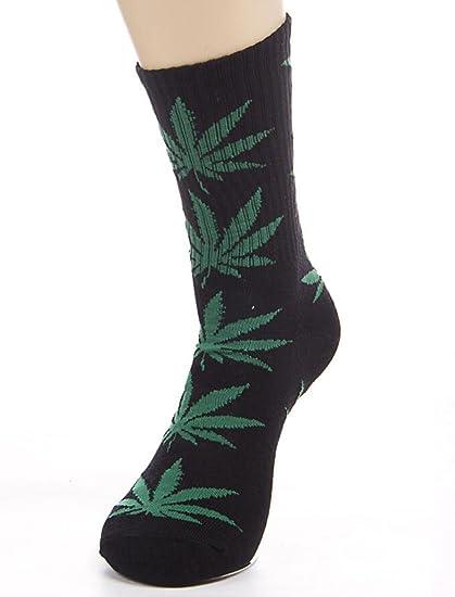 Weed leaf socks funny socks ganja socks  smoke 420 socks great gift present Christmas stocking filler