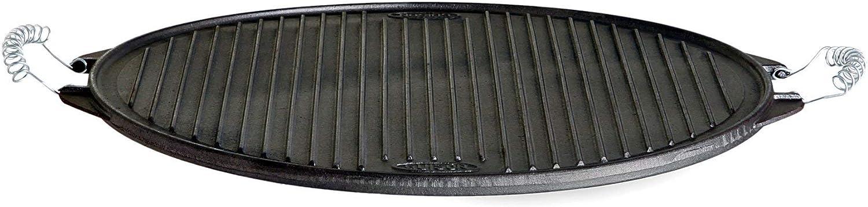 Garcima La Ideal - Plancha hierro fundido redonda 42 / 42 cm