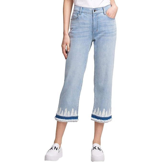 DKNY Jeans para Mujer con Dobladillo teñido: Amazon.es: Ropa ...
