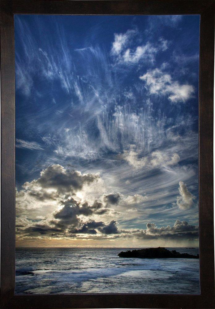 Frame USA Cloud Evolution Framed 18x12 by SD Smart-SHASMA111824 Print 18x12 Cafe Espresso