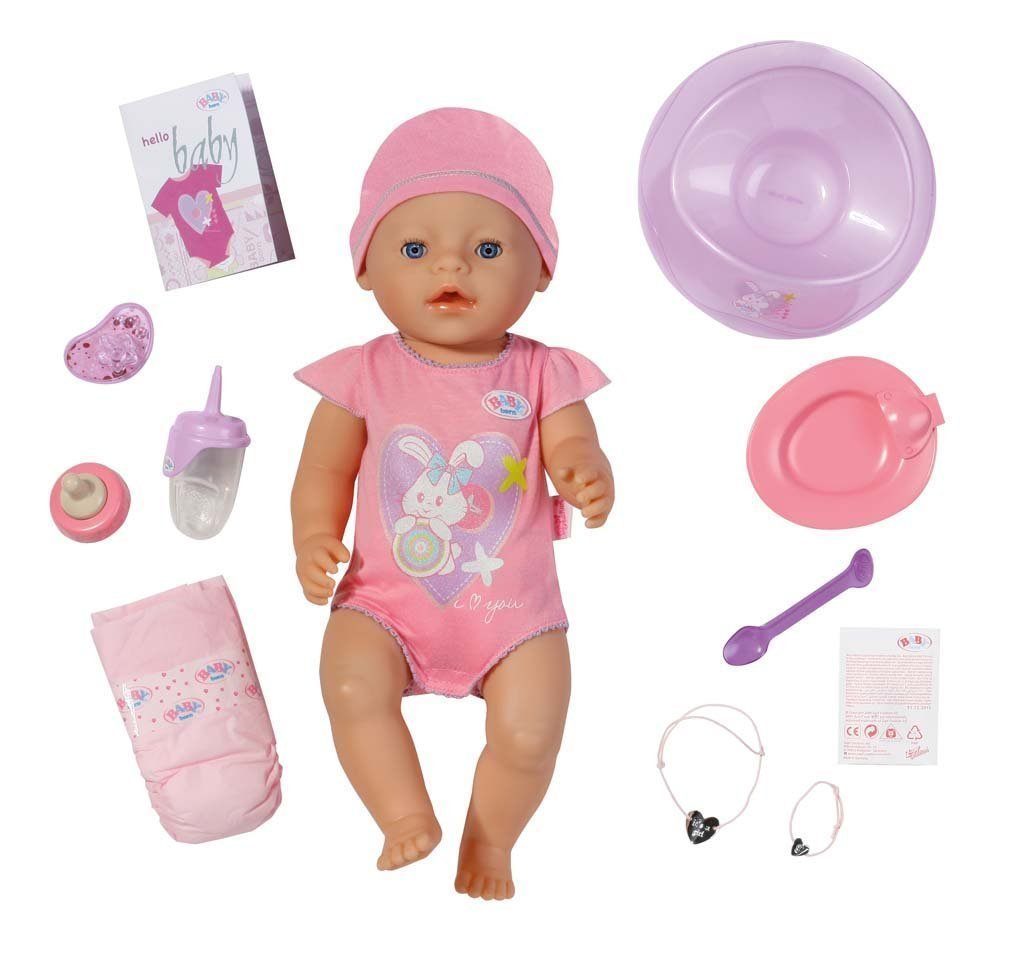 Zapf Creation 819197 - Baby born interactive Puppe