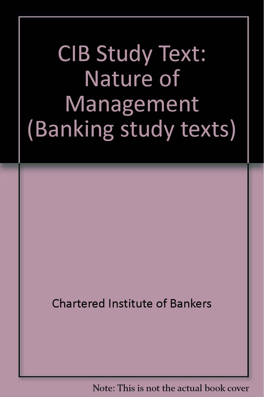CIB study text