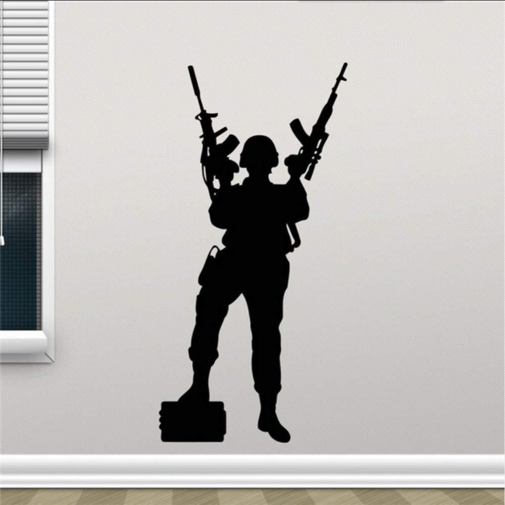 Fuerzas especiales tatuajes de pared policía soldado francotirador ...