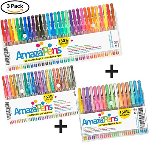 Coloring AmazaPens Pastel Metallic Perfect