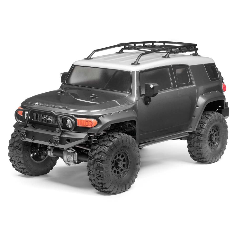 Amazon.com: Hobby Products International Racing 116558 1/10 Venture Toyota FJ  Cruiser 4WD Ready to Run Gunmetal Radio Control Vehicle: Toys & Games