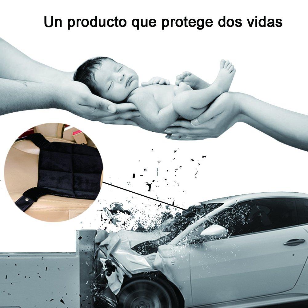 Homvik Adaptador Cinturón Para Embarazadas En Coche Dispositivo De Cinturón De Seguridad Para Mujeres Embarazadas Protector Cinturón Embarazada Que protege ...