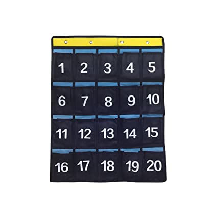 Amazon. Com: easepres numbered classroom pocket chart sundries.