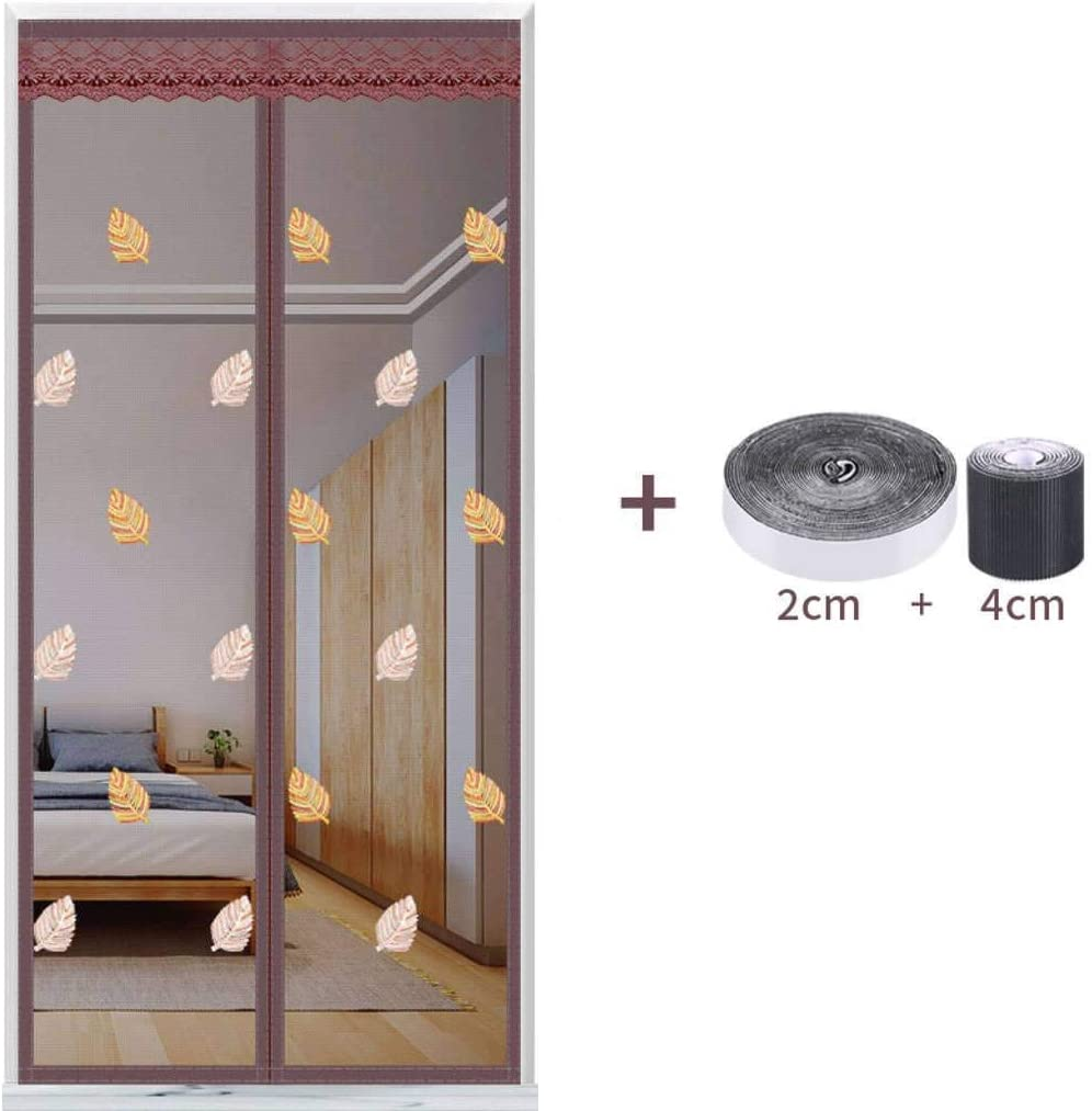 Mosquitera Puertas Cortina,Mosquiteras Para Puertas Pegado Sin Taladrar Mantiene Insectos Para Sala De Estar Balcón-80x200cm(31x79inch)-I: Amazon.es: Bricolaje y herramientas