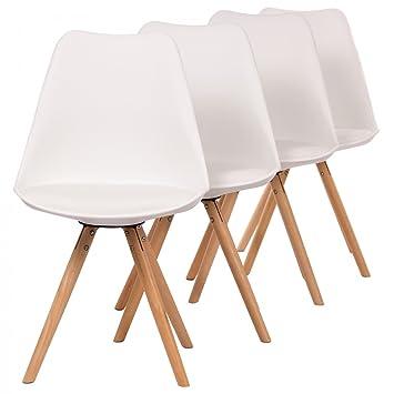 Makika Retro Stuhl Design Stuhl Esszimmerstühle Bürostuhl ...