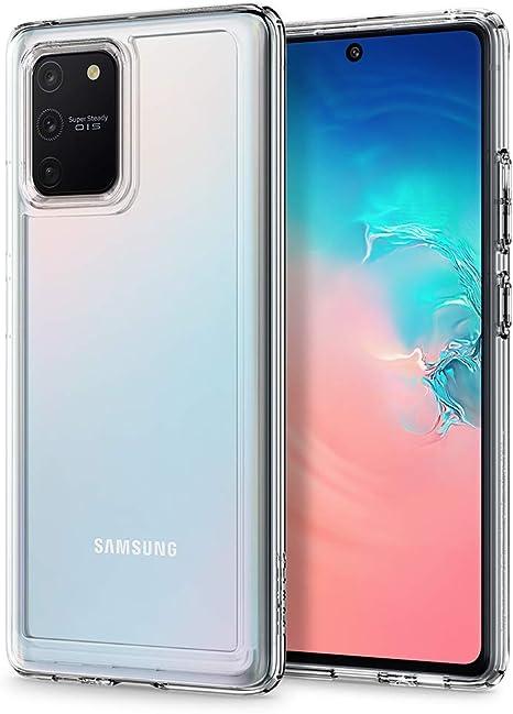 Spigen, Funda Compatible con Samsung Galaxy S10 Lite [Ultra Hybrid] Tecnología de cojín de Aire y protección híbrida de la caída: Amazon.es: Electrónica
