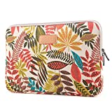 Prime Sale Day Deals Sale Offers 2019-Valentoria 15.6 Inch Laptop Sleeve Case-Colorful Vintage Leaves Style Ultrabook Sleeve Macbook Bag For Acer/Asus/Toshiba/Lenovo/Macbook Pro/Macbook Air