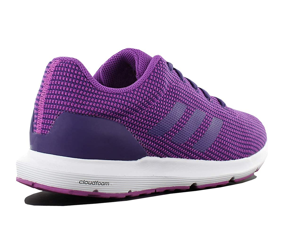 699e59dc92a0 adidas Cloudfoam Cosmic W Ladies Running-Shoes Violet Womens Trainers  Sneaker Shoes  Amazon.co.uk  Shoes   Bags