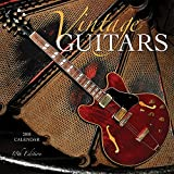 Vintage Guitars 2018 12 x 12 Inch Monthly Square Wall Calendar by Wyman, Instrument