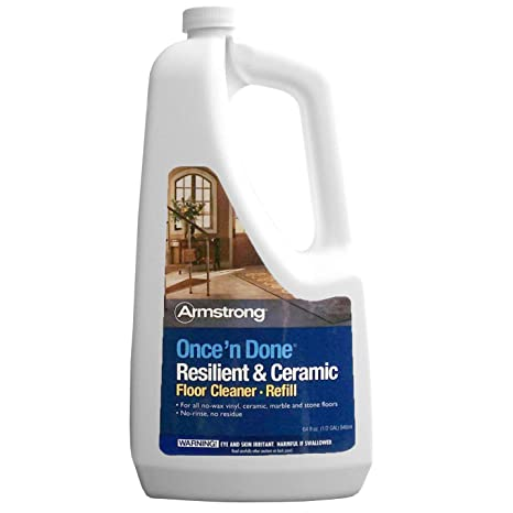 Armstrong S 337 Once N Done Resilient Ceramic Cleaner Refill Ready To Use 64 Oz