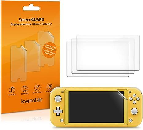 kwmobile 4x Protector de pantalla compatible con Nintendo Switch ...