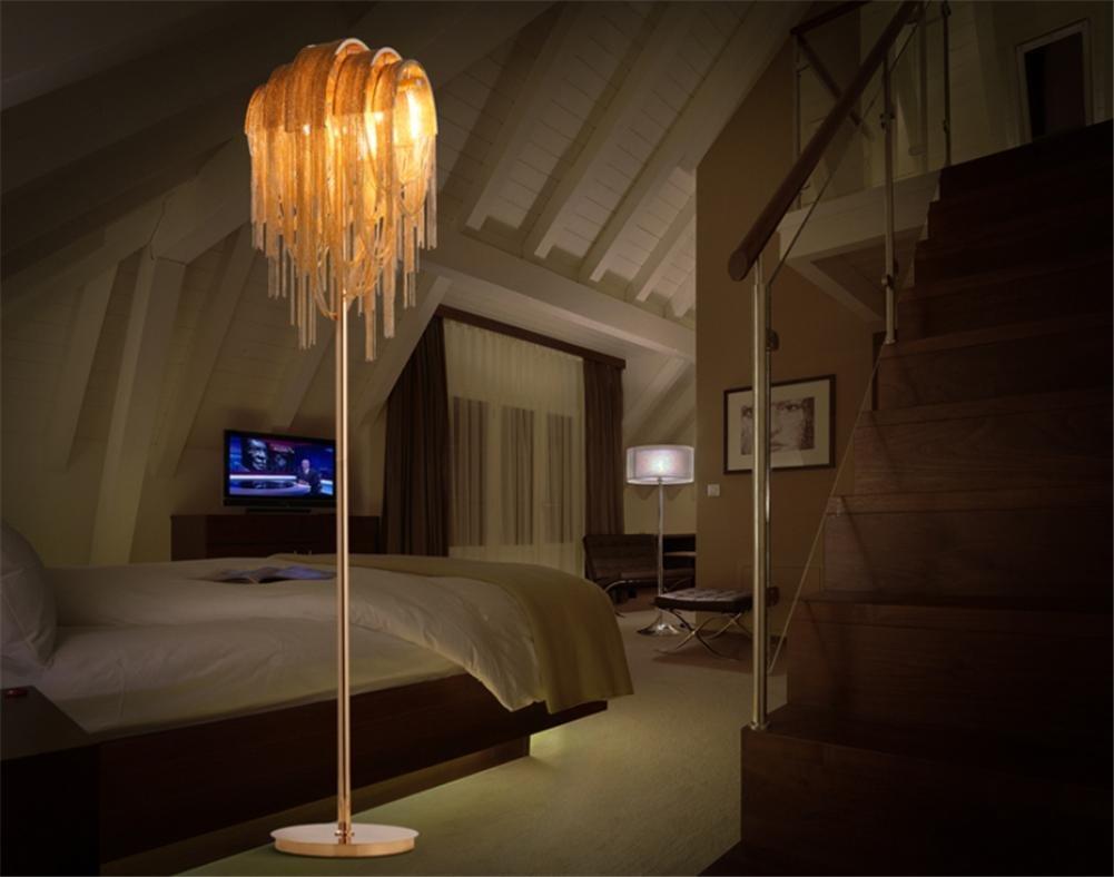 Moderne torchiere Stehlampe aus Schmiedeeisen führte Stehlampen für das Wohnzimmer