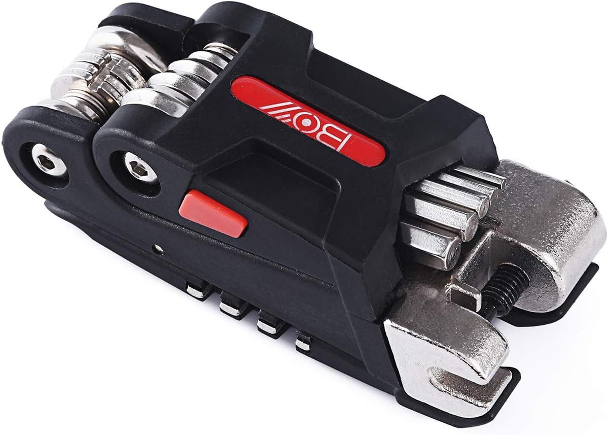 COZYROOMY Bike Repair Kits Bicycle tool kit with 10 in 1 Multi-Function Bike