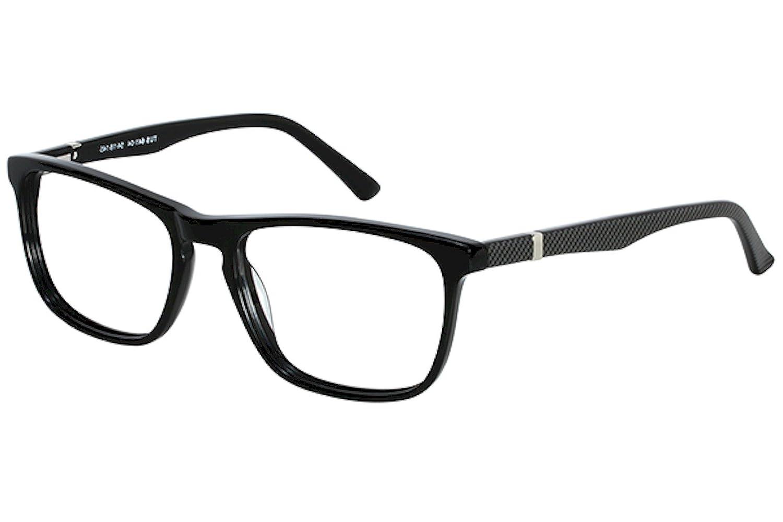 Tuscany Mens Eyeglasses 641 04 Black Full Rim Optical Frame 54mm