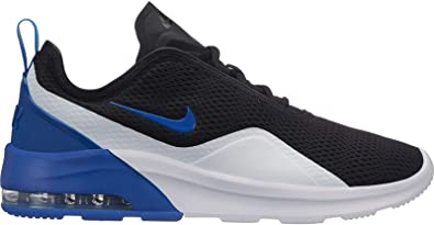 new product 2c1ca 93cdf Nike Men s Air Max Motion 2 Running Shoes Multicolour (Black Game Royal  White