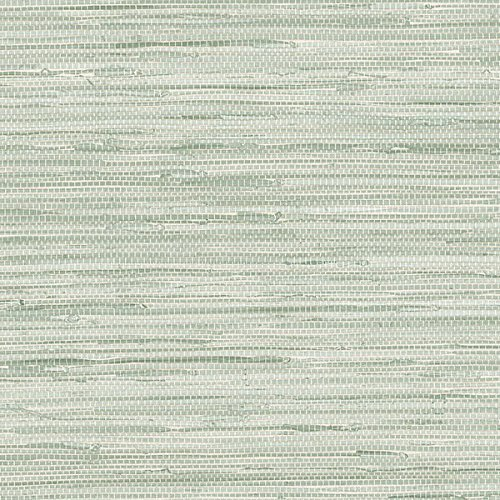 Green Faux Grasscloth Wallcovering PA34209 by Norwall -