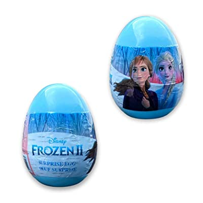 Disney Frozen 2 Surprise Easter Eggs - Filled Plastic Egg for Birthday Party Toys and Candy Surprise or Egg Hunt Decoration - 2 Piece Set: Toys & Games