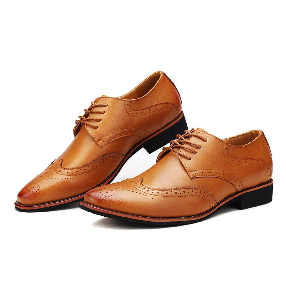 Willsego Herren Business Business Business Schuhe Breathable Freizeitschuhe (Farbe   Weiß, Größe   38)  796d57