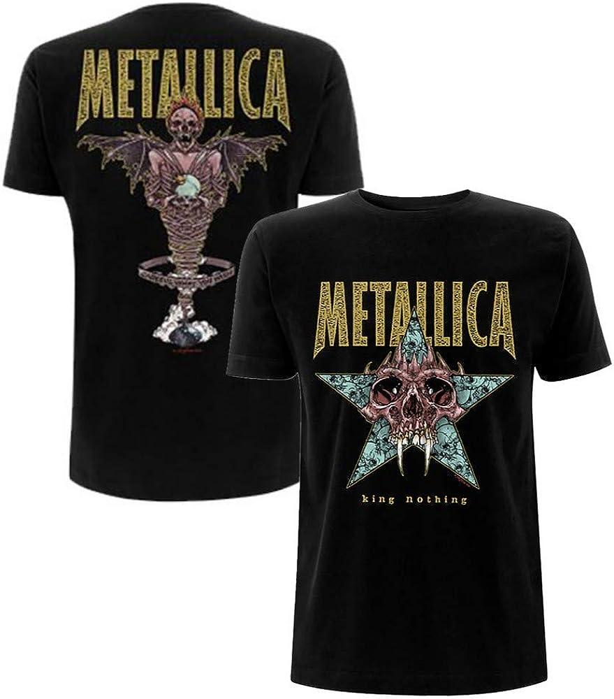 METALLICA King Nothing Backprint Mens T Shirt Unisex Official Band Merch