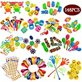 Ibayda 148Pc Carnival Prizes Toy Assortment for Kids Party Favor, Birthday Party, School Classroom Rewards, Pinata, Christmas, Festival and holiday Gifts