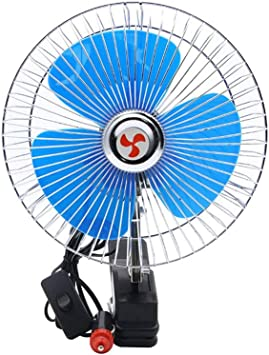 Ventilador Portatil Cuello 8 Pulgadas 12v / 24v Mini Ventilador De ...