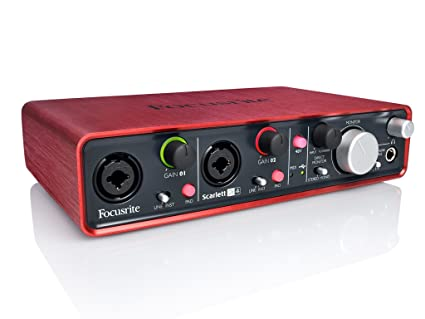 Focusrite - Scarlett 2i4 interface audio usb 2.0