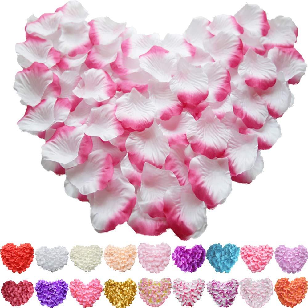 1000pc Petals Silk Fake Flower Floral Confetti Birthday Wedding Party Decoration
