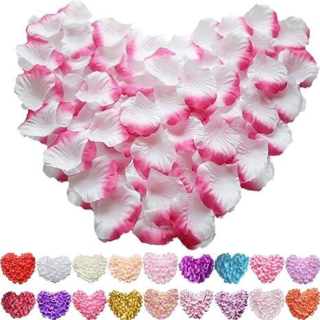 SILK ROSE PETALS FLOWER TABLE DECORATION CONFETTI WEDDING ENGAGEMENT PARTY