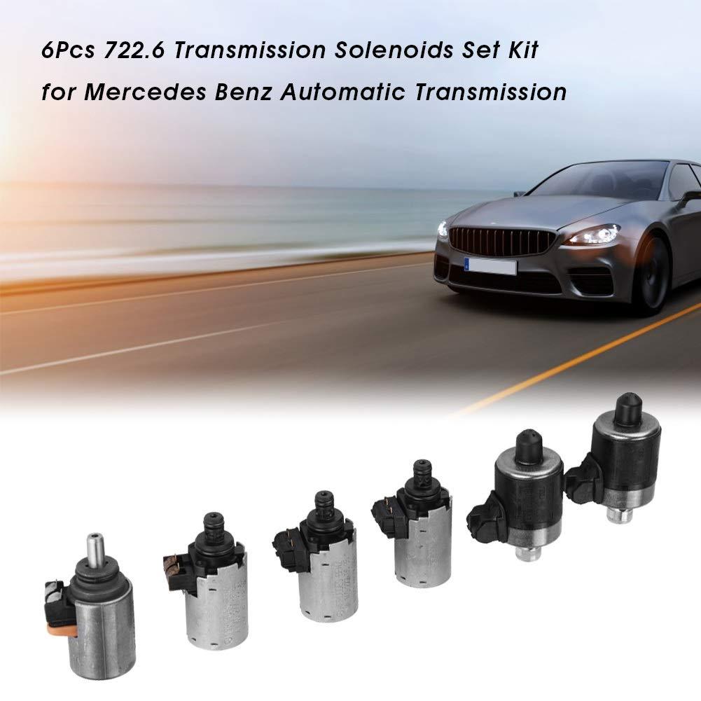 Juego de Juego de Solenoides de Transmisi/ón BiuZi para la Transmisi/ón Autom/ática CAR Juego de Solenoides 6 Piezas 722.6