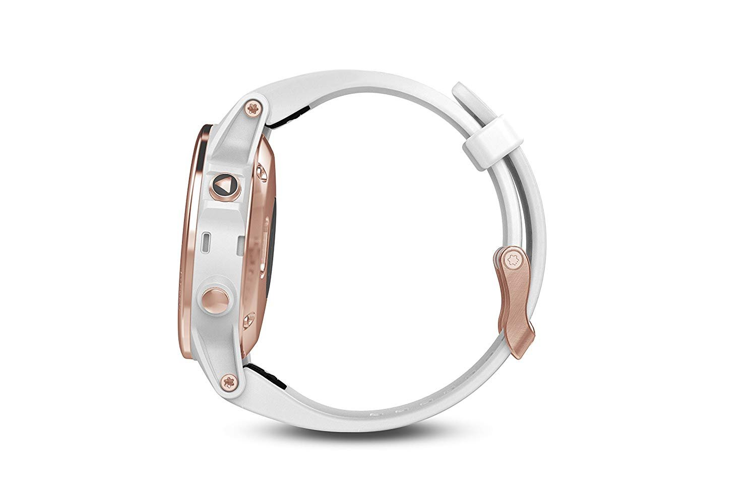 Garmin Fenix 5S - Sapphire, (Rose Gold/White Band) Bundle with PowerBank + USB Car Charger + USB Wall Charger (4 Items) by E Zee Electronics (Image #5)