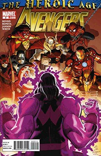 Brian May Replica (Avengers (Vol. 4) #2 VF/NM ; Marvel comic book)