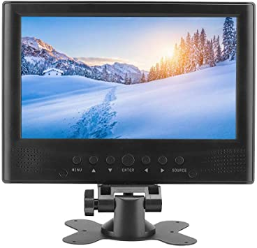 Televisor portátil HD DVB-T/T2 de 9 pulgadas Televisor LCD con pantalla panorámica 1080P Sintonizador digital incorporado con antenas desmontables, cargador para automóvil, cinta adhesiva de doble car: Amazon.es: Bricolaje y herramientas