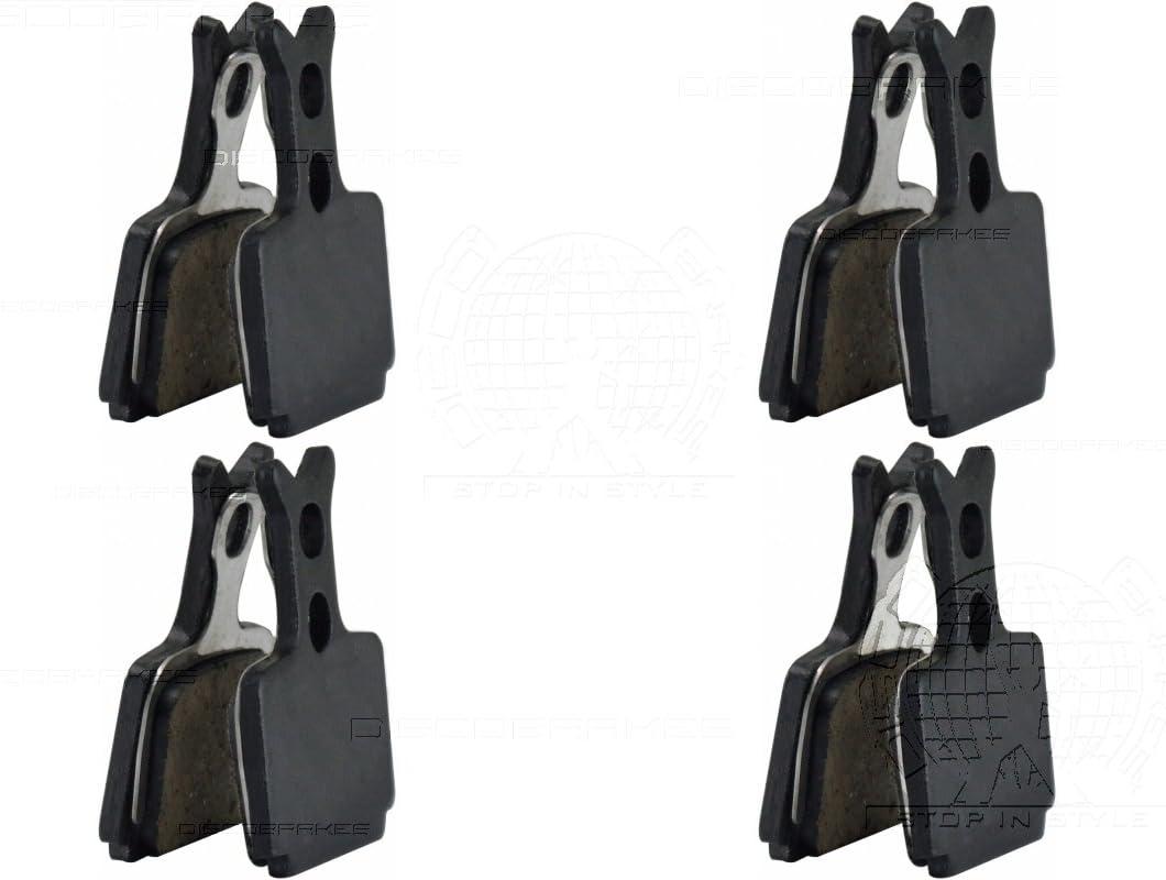 Sinterizzate Semi Kevlar m/étalliques ou en c/éramique 4 paires de plaquettes de freins /à disque pour Formula Oro Mega et B4