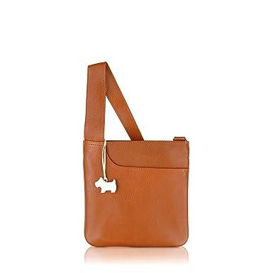 7cb4255964fee RADLEY 'Pocket Bag' Tan Leather Small Across Body Bag: Amazon.co.uk ...