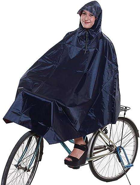 NUOLUX Agua Densidad Chubasquero Bicicleta Poncho: Amazon.es ...